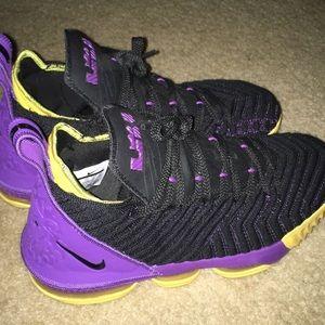 Nike lebron 16 , size 9